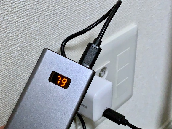 「cheero Power Plus 5 10000mAh with Power Delivery 18W」 レビュー