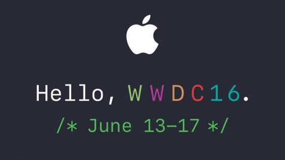 wwdc 16 apple
