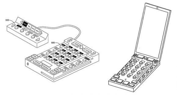 unniversal keyboard 特許 ios キーボード