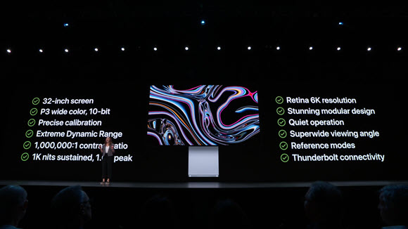 Apple Pro Display XDR WWDC 19