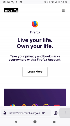 Firefox Preview2