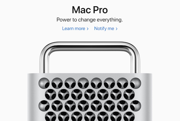 Apple Mac Pro 発売日