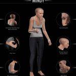 3dモデル 進化 人類 スマホ