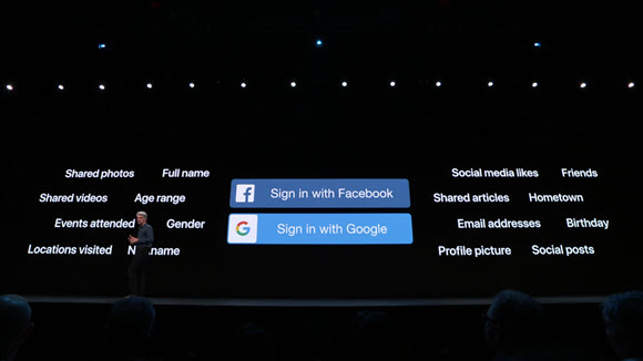 Sign In with Apple WWDC 19