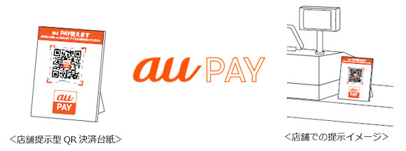 au PAY QRコード