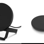 「BOOST↑UP ワイヤレス充電スタンド」と「BOOST↑UP ワイヤレス充電パッド」