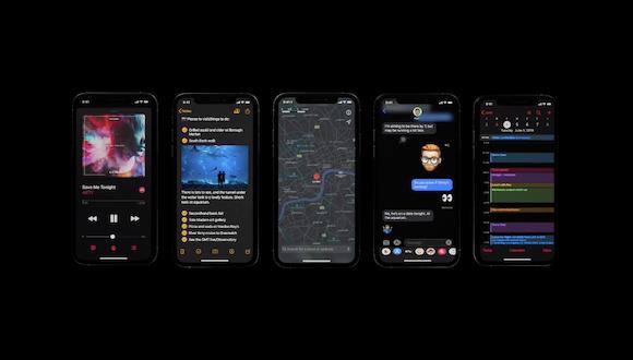 Apple iOS13 ダークモード 動画 YouTube