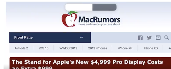 iOS13 ボリューム 音量コントロール MacRumors