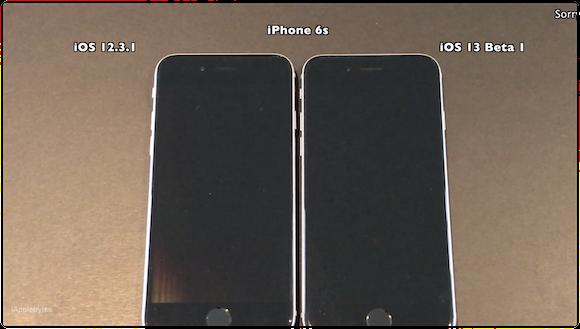 iPhone6s iOS13スピードテスト iAppleBytes