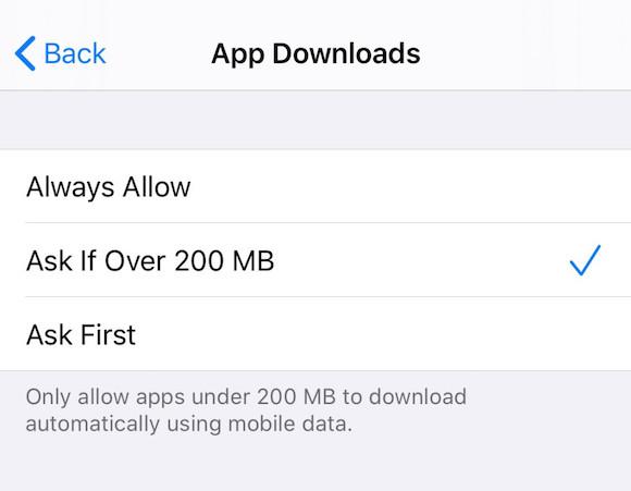 iOS13 App Store ダウンロード制限 撤廃