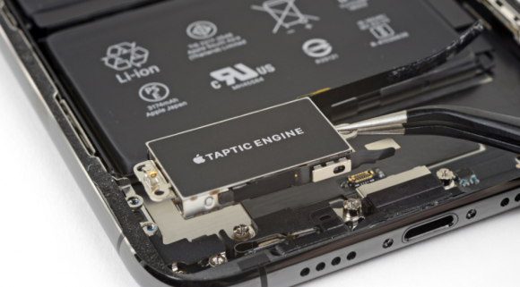 taptic engine ifixit iphone xs max