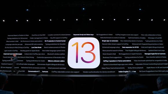 iOS13 WWDC 2019