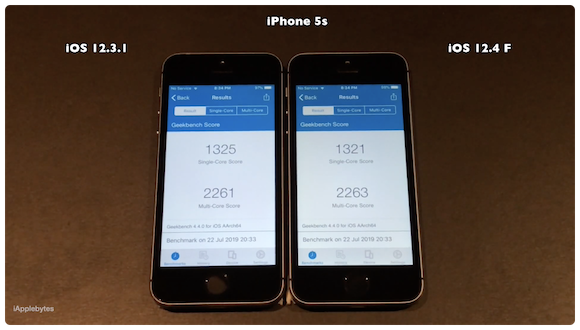 iPhone5s iOS12.4 iOS12.3.1 iAppleBytes
