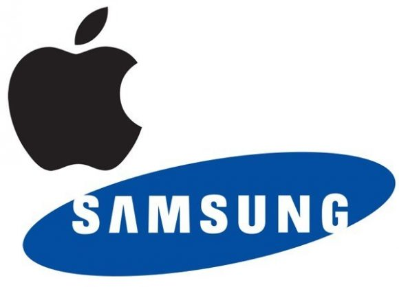 Apple Samsung ロゴ