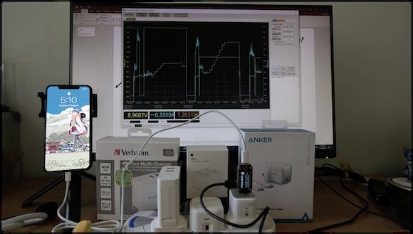 iPhone 高速充電 チャイム 実験