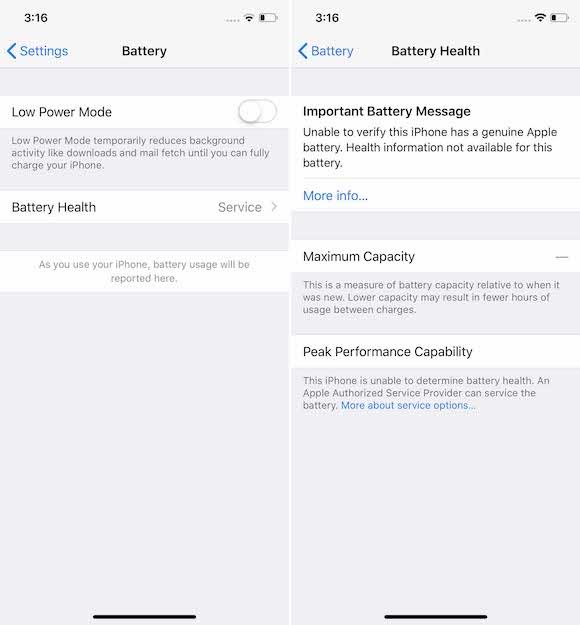 iPhone バッテリー サービス iFixit