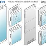 samsung 折りたたみスマートフォン 特許 galaxy