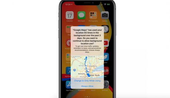 ios13 iphone 位置情報