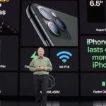 iPhone11 Pro 発表