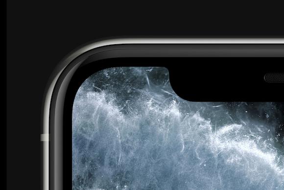Apple iPhone11 Pro Max Super Retina XDRディスプレイ