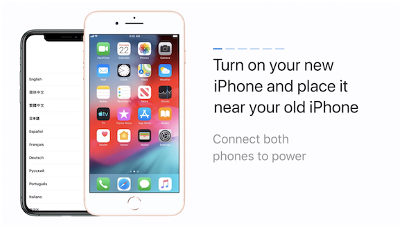 How to transfer data to a new iPhone from your previous iPhone – Apple Support