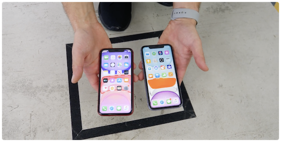 iPhone11 iPhone XR 強度テスト