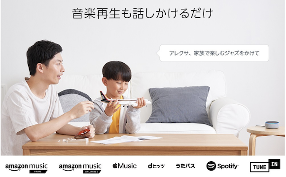 Echo Dot 第3世代 音楽