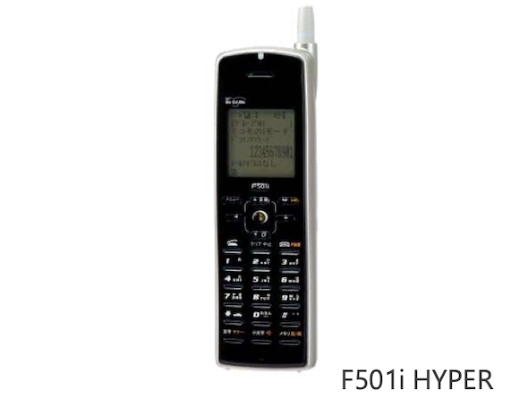 NTTドコモ iモード F501i HYPER