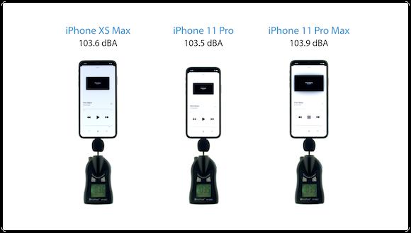 iClarified iPhone 音量テスト