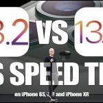 iOS13.2 iOS13.1.3 スピードテスト iAppleBytes/YouTube
