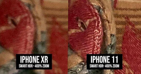 iPhone XR iPhone11 写真 比較 Tyler Stalman/Twitter