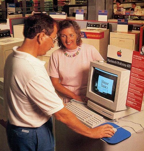 シアーズで売られるMac
