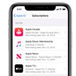 Apple サブスクリプション