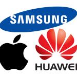 apple samsung huawei ロゴ