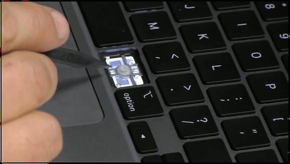 iFixit 16インチ MacBook Pro キーボード 分解 YouTube