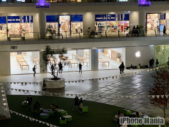 Apple 川崎 オープン前夜