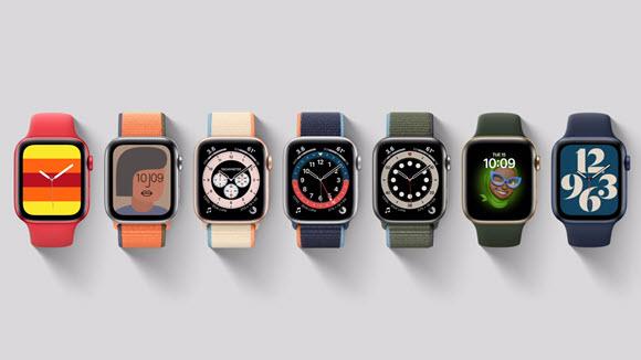 Apple Watch Series 6 watch face