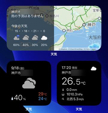 神戸 今日 の 天気