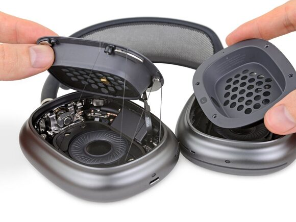 airpods max 分解 ifixit