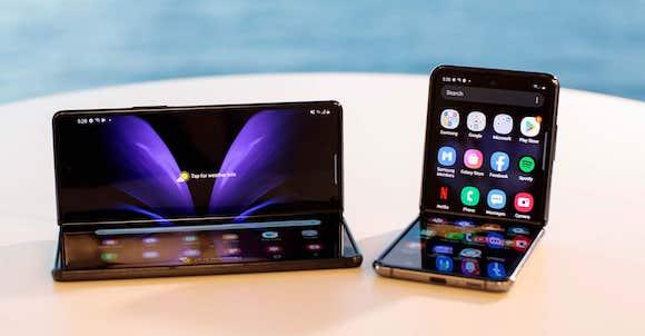 Galaxy Z Fold and Flip