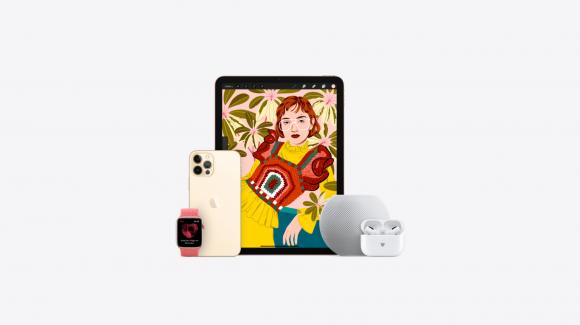 Appleのバレンタインの贈り物特集の画像
