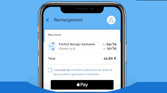 navigo apple pay