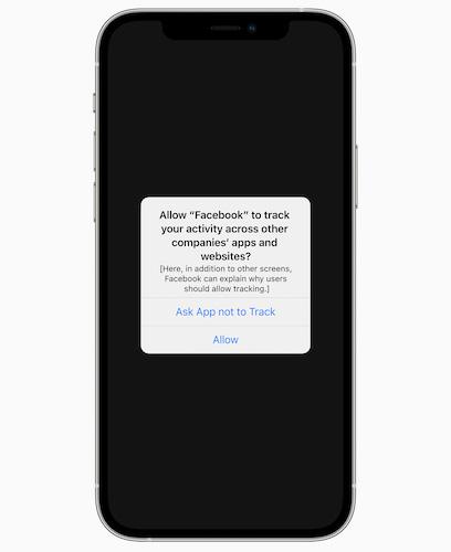 Apple App Tracking Transparency(アプリケーションのトラッキング申告)