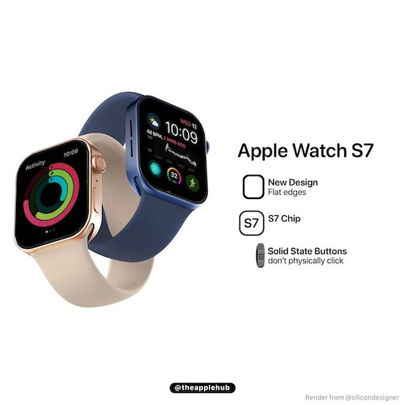 Apple Watch Series 7 render