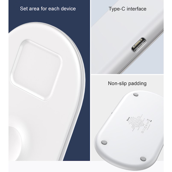 Baseus Smart 3in1 Wireless Charger_5