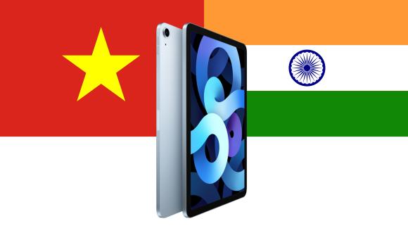ベトナム インド ipad