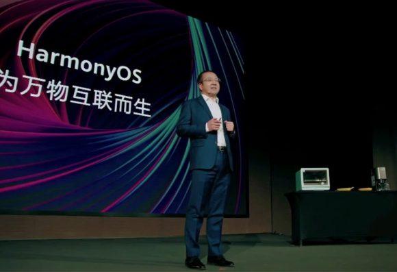 HuaweiのHarmonyOSのデモ