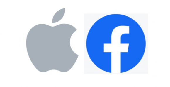 Facebook Apple ロゴ