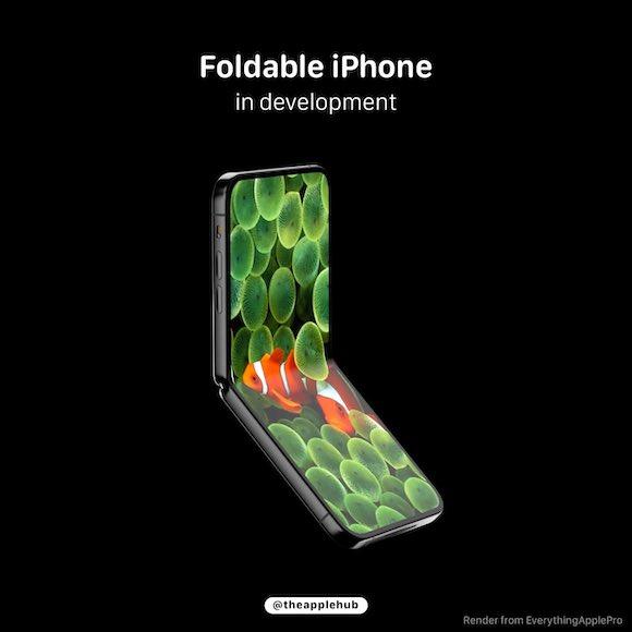 foldable iphone 2021