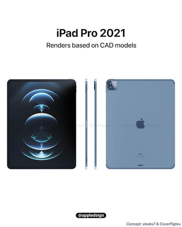iPad Pro 2021 blue